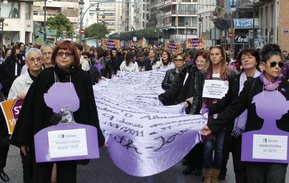DOCU_LP DOCU_LP DOCU_LP Manifestacion contra la violencia de genero